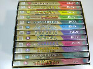Cines-Imax-Coleccion-12-x-DVD-Espanol-English-2003-Yellowstone-Alaska-Egipto