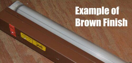 """LAMPI MAXI 5318-2 Fluorescent Warm White 18W 27/"""" BROWN Fixture NEW Cord /& Plug"""