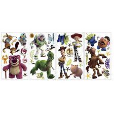 Toy Story 3 wall stickers BUZZ Lightyear WOODY JESSIE 34 big decals glow in dark