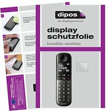6x Philips xl495 lámina protectora claro lámina protector de pantalla dipos protector de pantalla