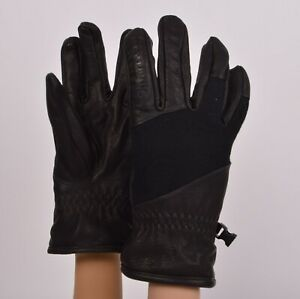 2019-NWT-SMARTWOOL-RIDGEWAY-Gloves-S-Black-Snowboard-Gloves