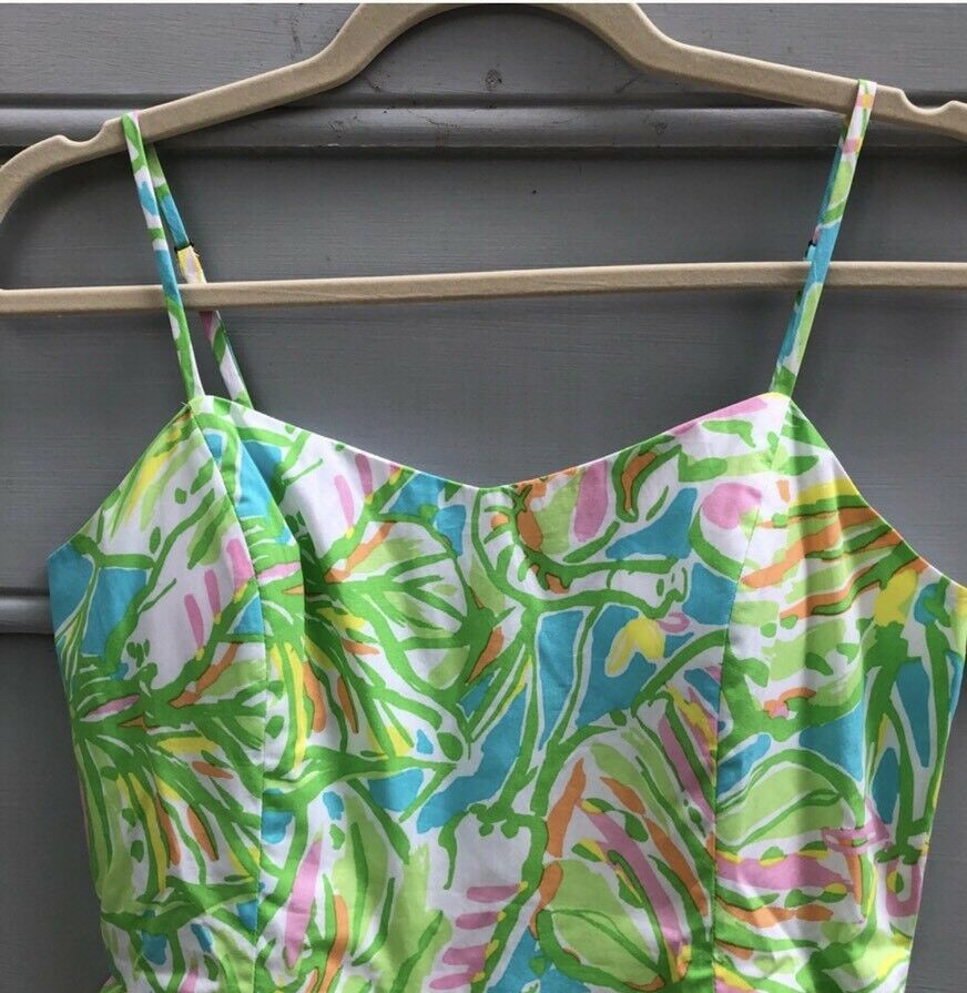 Lilly Pulitzer Pulitzer Pulitzer Dress In Elephant Ears Size 4 ead307