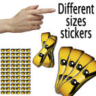 Lego Ninjago Eyes Stickers - Different Sizes for Lollipops Balloons Bags Cones