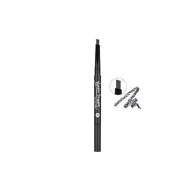 Holika Holika Wonder Drawing 24hr Auto Eyebrow #1 Gray Black Free gifts