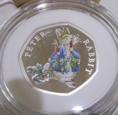2016 2017 2018 UK 50p SILVER PROOF BEATRIX POTTER PETER RABBIT ROYAL MINT  COIN