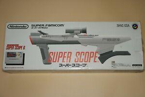Super-Nintendo-SNES-Super-Scope-6-Bazooka-Gun-Complete-In-Box-SHVC-SSA