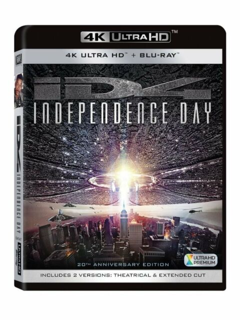 INDEPENDENCE DAY ID4   (4K Ultra HD UHD Blu-ray B)