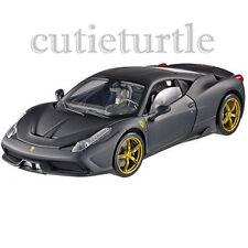 Hot wheels Elite Ferrari 458 Speciale 1:18 Limited BLY33 Matte Black