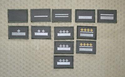 NVA Ärmelabzeichen Unteroffizier zum neuen Strichtarnanzug Felddienst ab 1990