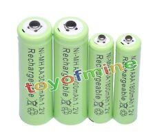 2+2 AAA AA 1800mAh 3000mAh NiMH Rechargeable Battery GN