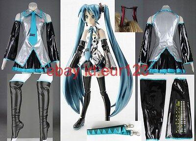 Vocaloid 2 Hatsune Miku Cosplay Costume Custom