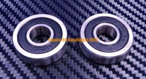 Black 163110-2RS HYBRID CERAMIC Si3N4 Ball Bearing QTY 2 16x31x10 mm