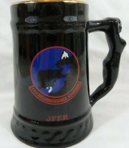 17th Reconnaissance Squadron Nude Woman Handle Large Mug