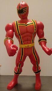 "POWER RANGERS  RED RANGER Action Figure 2005 Bandai 18"""