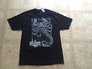 STING-WWE-Hall-of-Fame-T-shirt-Men-039-s-LARGE-Brand-New-Wrestlemania-32-HOF