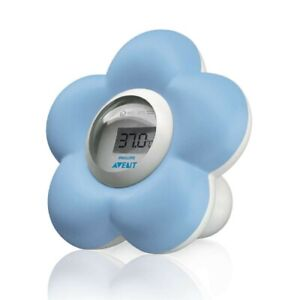 AVENT Baby Bath & Room Thermometer - Blue Accurate Temperature SCH550/20