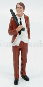 AMERICAN DIORAMA 1/18 FIGURES | LADRO - ROBBER III | WHITE BROWN