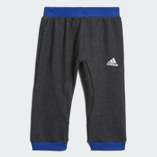 Adidas Infant Boys Basketball French Terry Tracksuit Baby Kids Children Full Set