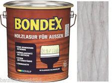 Bondex Holzlasur Fur Aussen Hellgrau 4 L Holzschutz Lasur Gunstig