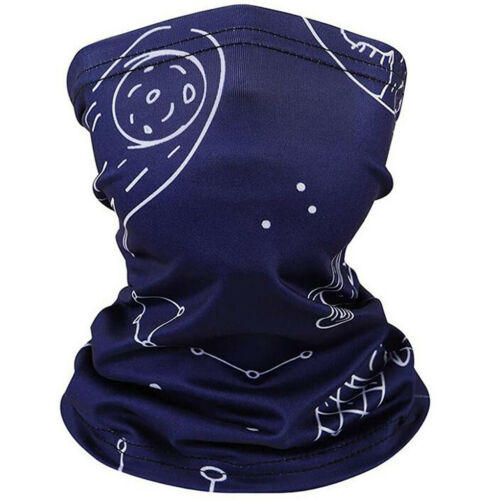 Kids Outdoor Cool Neck Gaiters Scarf Balaclava Multifuntion New