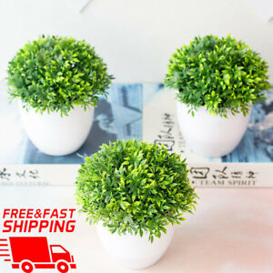 Artificial-Bonsai-Plants-Small-Tree-Pot-Plant-Fake-Flowers-Potted-New-Ornaments