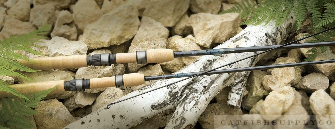 ST.CROIX AVID SALMON STEELHEAD CENTER PIN SPINNING ROD SERIES   factory direct sales