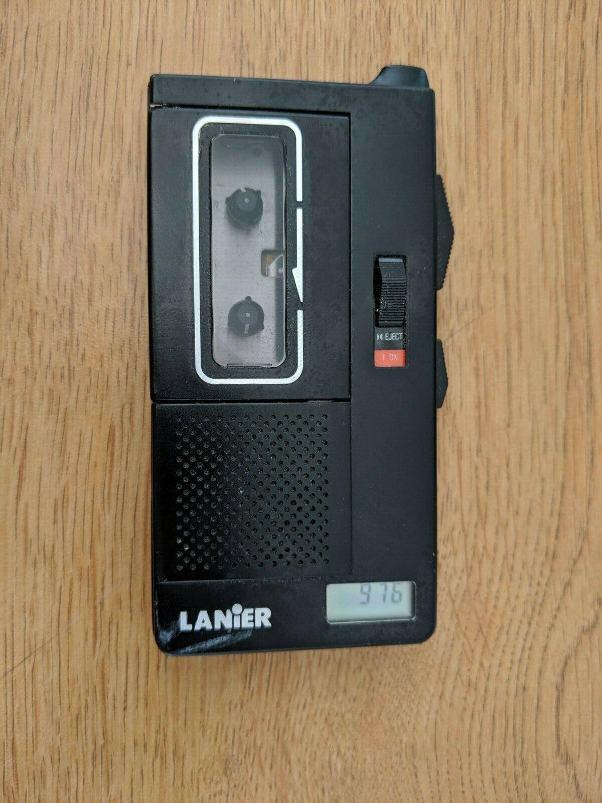 Lanier P-154 Micro Cassette Recorder