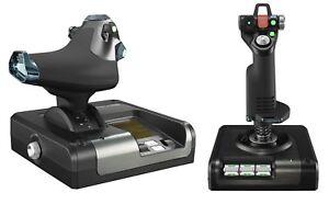 9a6fc6f3f66 Logitech G Saitek X52 Pro Flight Control System Control System for ...