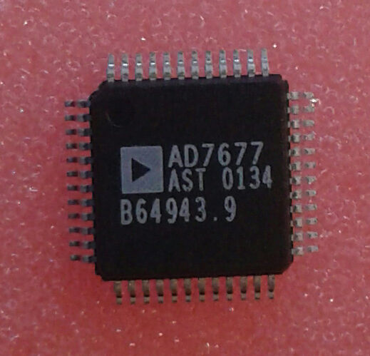 2pcs AD7677AST Differential ADC Analog Devices16-Bit Analog To Digital Converter