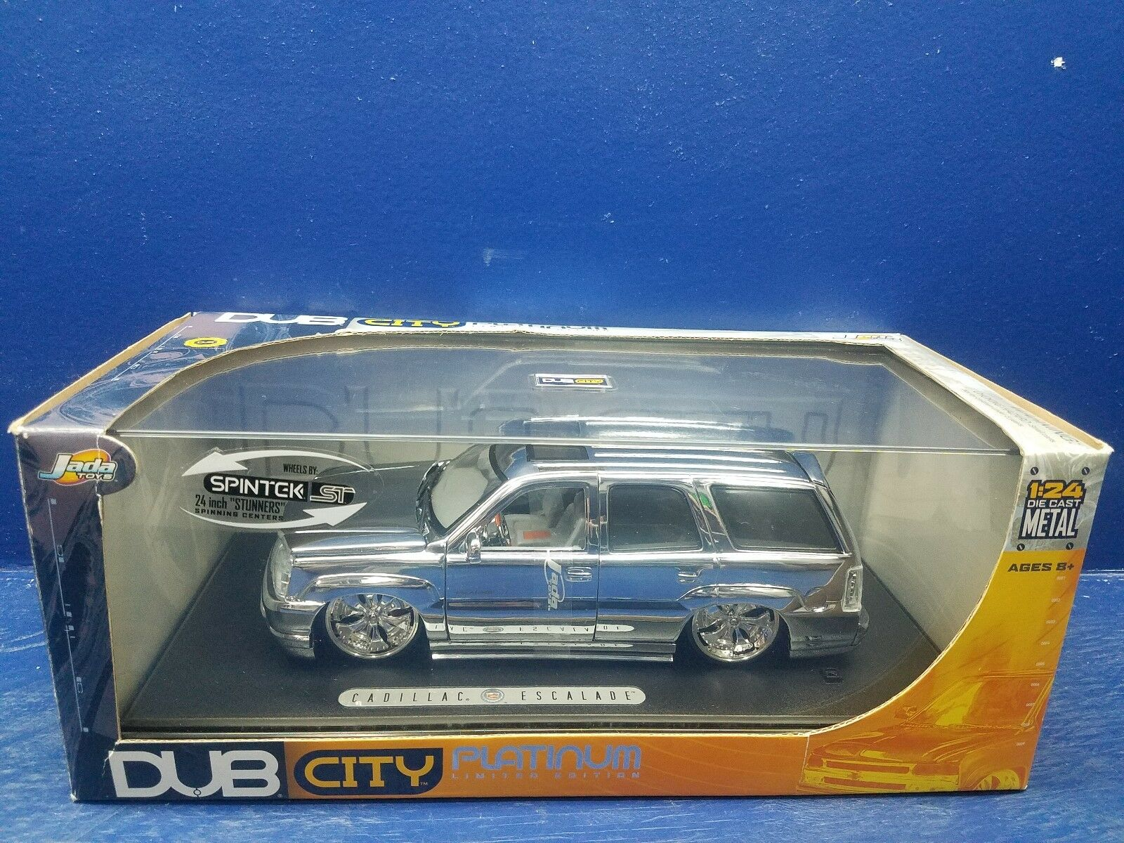 Jada Toys DUB City Cadillac Escalade Platinum Car Limited Edition Die-Cast 1:24