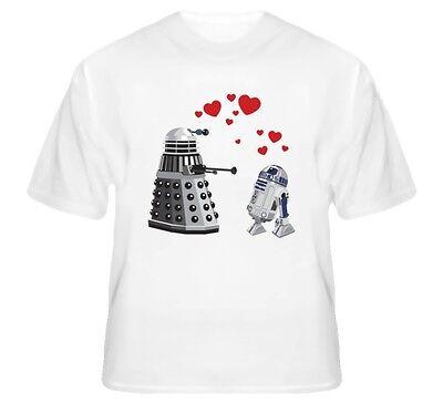Doctor Who Dalek Star Wars R2-D2 Love T-Shirt