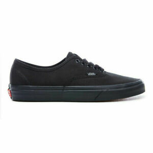 Vans UA Authentic All Black Gum Hommes Mode De Vie Sneaker Skateboarding VN000EE3BKA