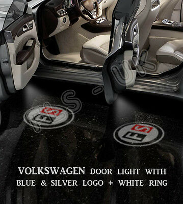 CREE LED CAR LOGO GHOST SHADOW DOOR LIGHT LAMP FOR VOLKWAGEN VW 2 BULB - GSL006