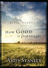 Lot of 4 How Good Is Good Enough? by Andy Stanley Paperback Book (English)