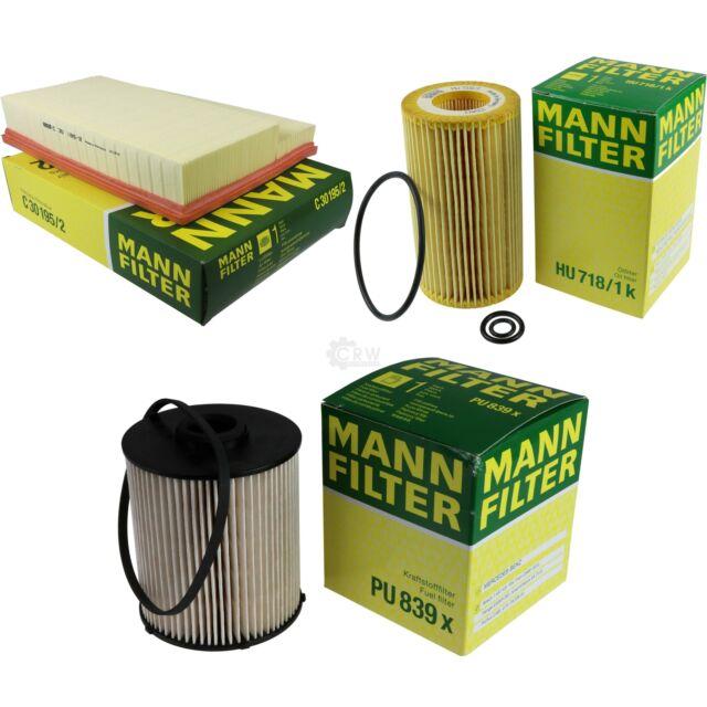 Mann-filter Set Mercedes-Benz Clase C W202 C 200 CDI 220 S202 T