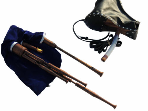 Bellow Blown Scottish Smallpipes in Bb