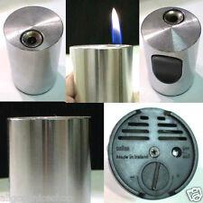 BRIQUET Ancien * BRAUN T2 Cylindrique * Vintage Desk Lighter Feuerzeug Accendino