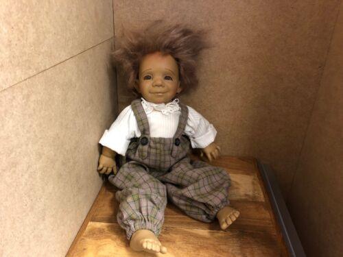 Jeckle Jansen Doll Vinyl 43 Cm.   Top condition