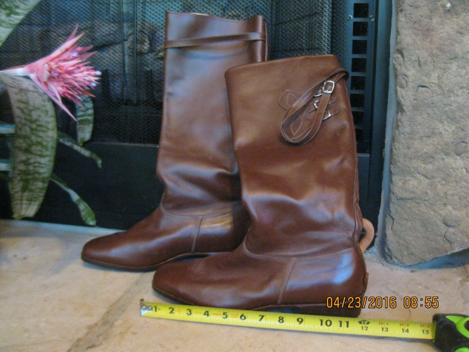 Greek Leather Boots from  Chania Greece - Men's