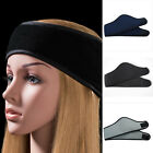 Winter Ear Warmer Head Band Polar Fleece Ski Ear Muff Unisex Stretch Spandex New