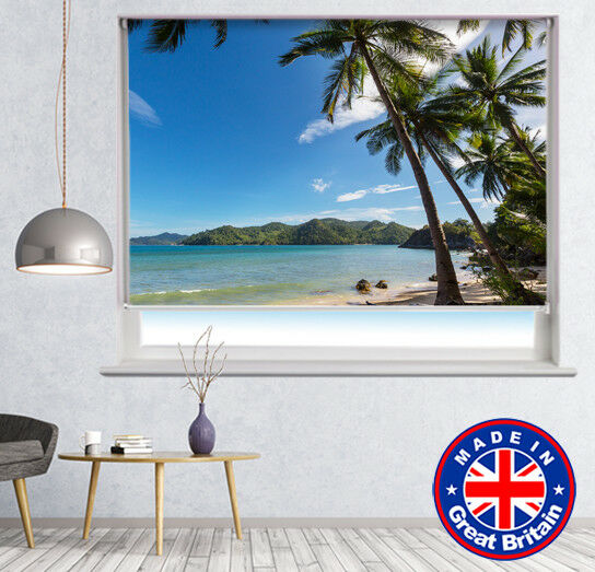 CalFemmet Beach Sea Sea Sea Tropical Imprimé Photo store occultant à distance 4863b2