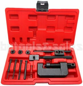 CHAIN BREAKER RIVETING TOOL CUTTER OHV CAM DRIVE MOTORCYCLE LINK SEPARATOR SET