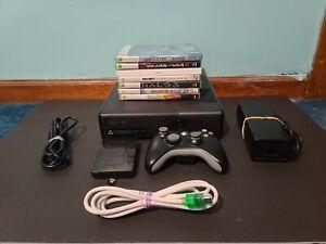 Microsoft Xbox 360 S Slim 250 GB 1439 Black Gaming Console ...