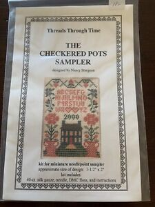 Threads Through Time Cross Stitch Kit