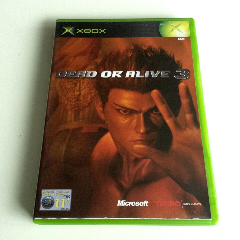 Dead Or Alive 3, Xbox, action