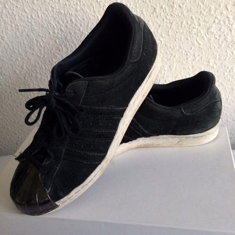 Sneakers, str. 40, Adidas, Sort, Ubrugt, Adidas