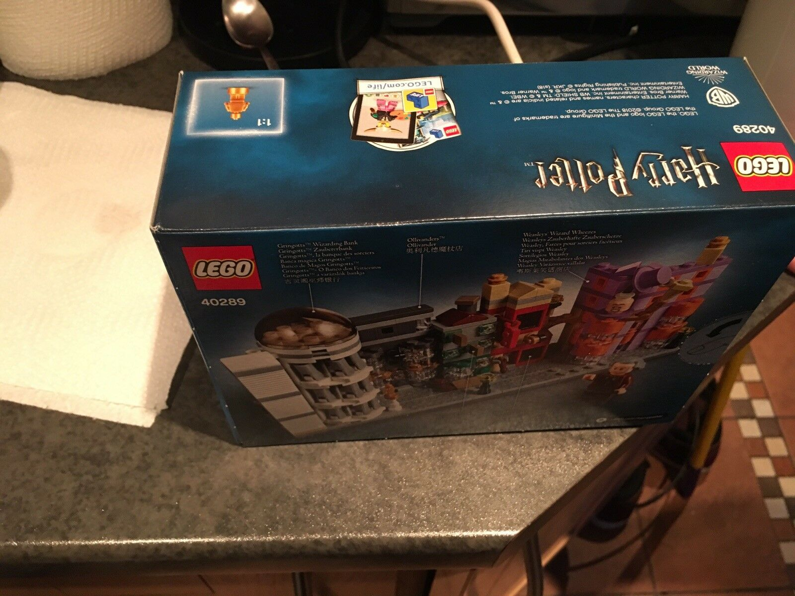 Lego Harry Potter 40289 Micro Diagon Alley sorciers avec avec avec M. Ollivander ca912e