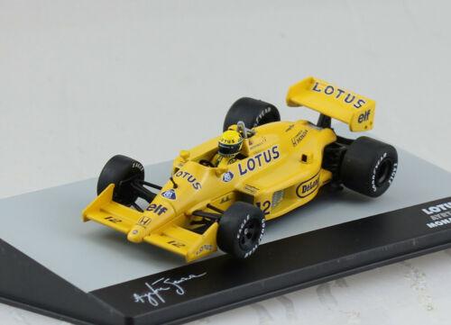 Lotus 99T Ayrton Senna GP Monaco 1987 #12 1:43 Atlas Modellauto