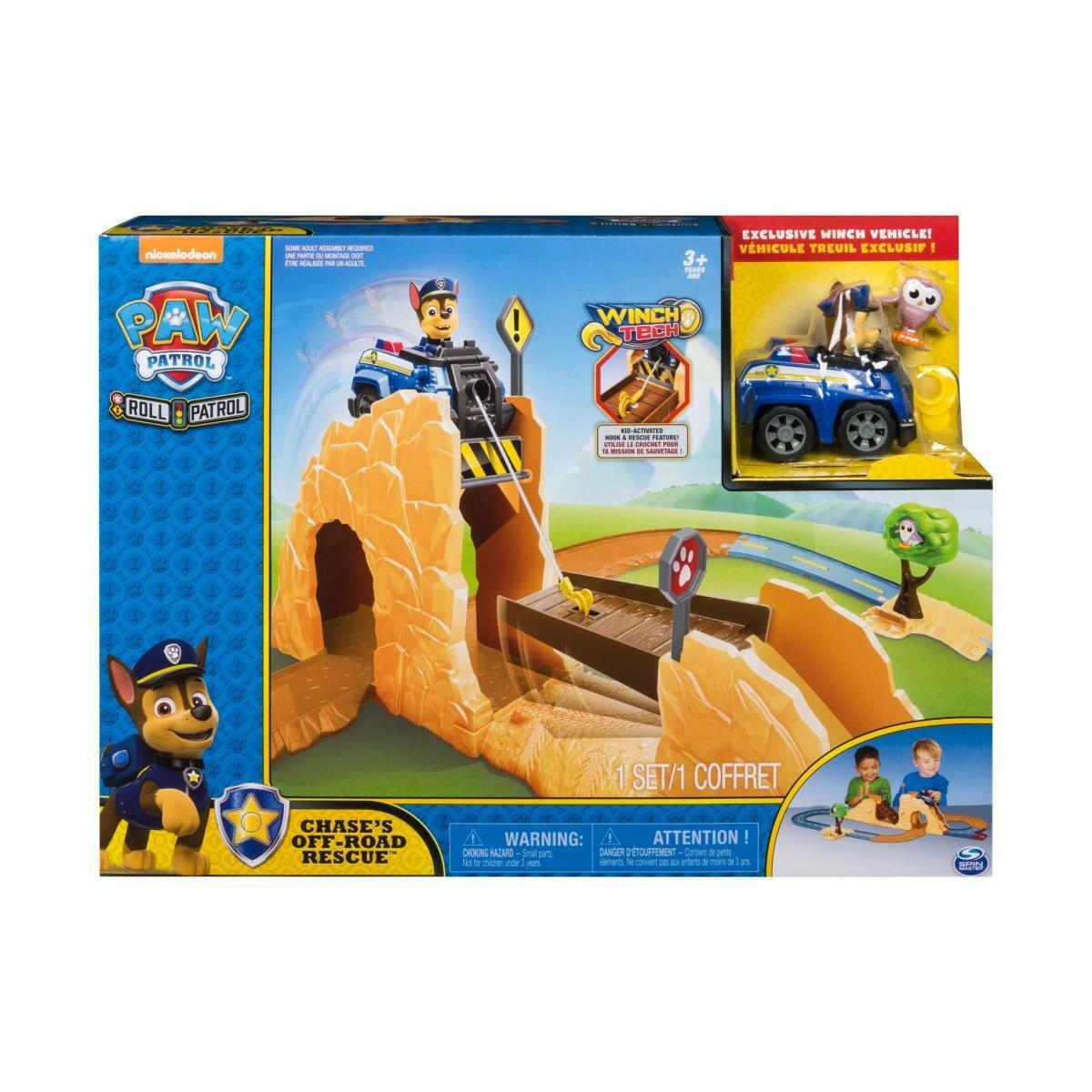 Paw Patrol Roll Patrol Chase Off-Road Rescue Playset Christmas Birthday Gift