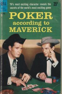 Poker-According-to-Maverick-Dell-First-Edition-B142-1959-1st-thus-856228